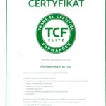 Alfa Forwarding z certyfikatem TCF Elite