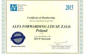 Alfa Forwarding członkiem IFLN Network